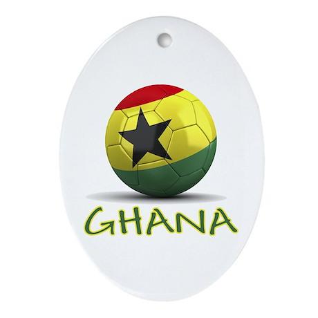 Team Ghana Ornament (Oval)