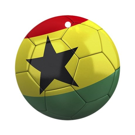 Team Ghana Ornament (Round)
