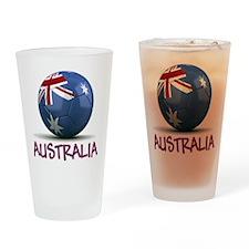 Team Australia Drinking Glass