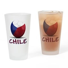 Team Chile Drinking Glass