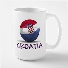 Team Croatia Large Mug