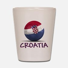 Team Croatia Shot Glass