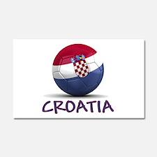 Team Croatia Car Magnet 20 x 12