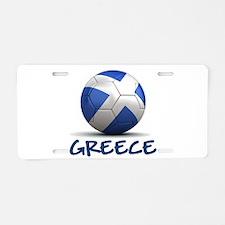 Team Greece Aluminum License Plate