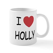 I heart holly Mug