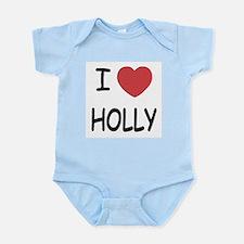 I heart holly Infant Bodysuit