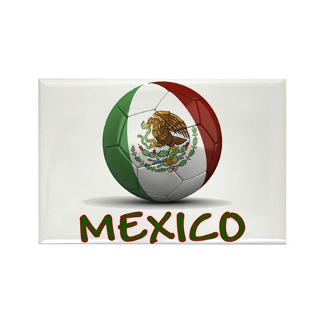 Team Mexico Rectangle Magnet (10 pack)