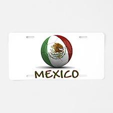 Team Mexico Aluminum License Plate