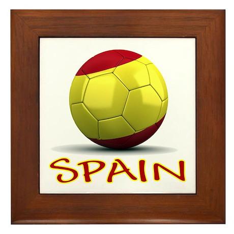 Team Spain Framed Tile