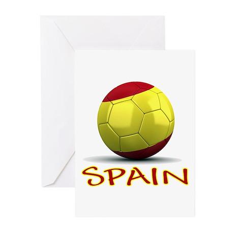 Team Spain Greeting Cards (Pk of 10)