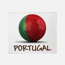 Team Portugal Throw Blanket