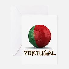 Team Portugal Greeting Card
