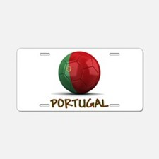 Team Portugal Aluminum License Plate
