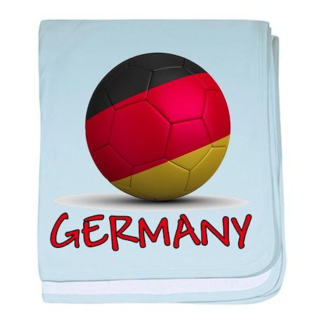 Team Germany baby blanket