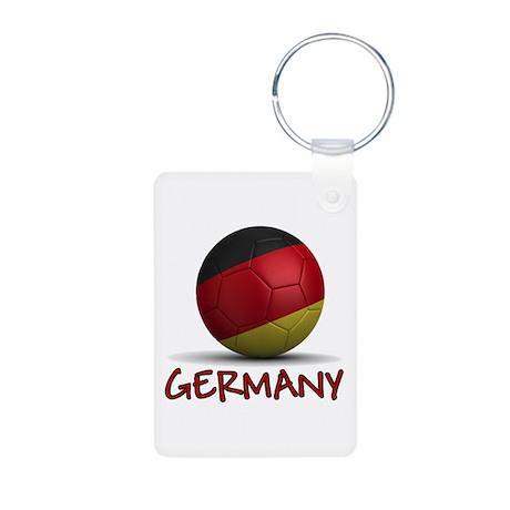 Team Germany Aluminum Photo Keychain