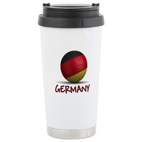 Team Germany Stainless Steel Travel Mug