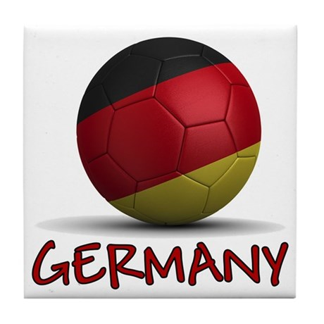 Team Germany Tile Coaster