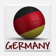 Team Germany Tile Coaster