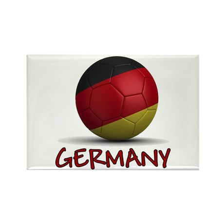Team Germany Rectangle Magnet (100 pack)