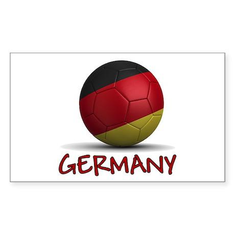 Team Germany Sticker (Rectangle)