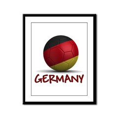 Team Germany Framed Panel Print