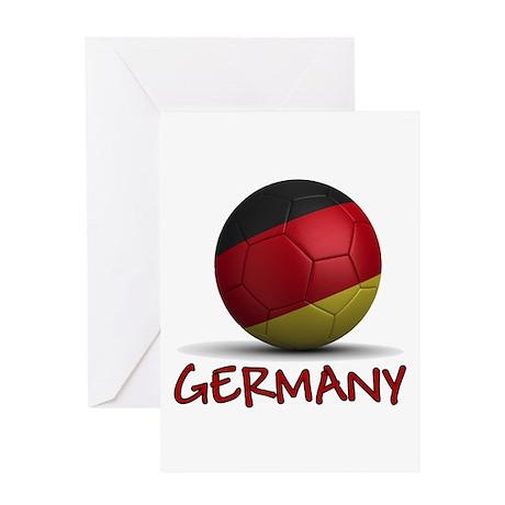 Team Germany Greeting Card