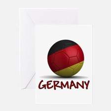 Team Germany Greeting Card