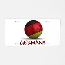 Team Germany Aluminum License Plate