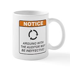 Auditor / Argue Mug