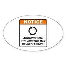 Auditor / Argue Decal