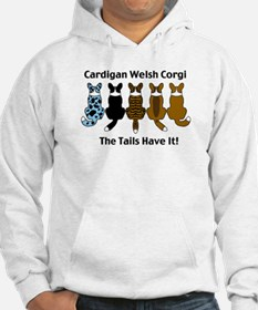 Wagging Cardigans Hoodie
