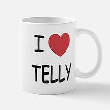 I heart telly Mug