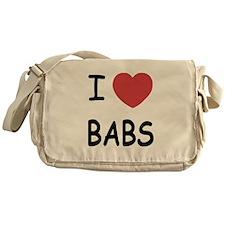 I heart babs Messenger Bag