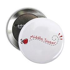 Middle Sister Ladybug Button