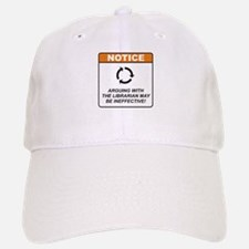 Librarian / Argue Baseball Baseball Cap