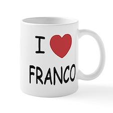 I heart franco Mug