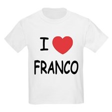 I heart franco T-Shirt