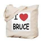 I heart bruce Tote Bag