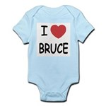 I heart bruce Infant Bodysuit