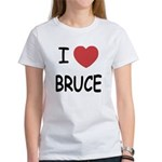 I heart bruce Women's T-Shirt