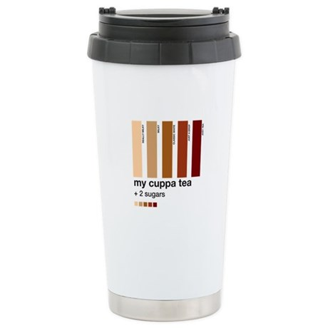My Cuppa Tea - 2 Sugars Stainless Steel Travel Mug