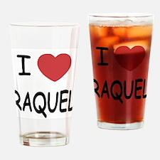 I heart raquel Drinking Glass