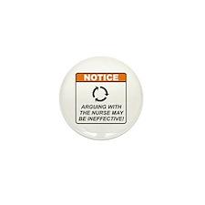 Nurse / Argue Mini Button (100 pack)