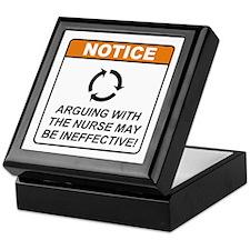 Nurse / Argue Keepsake Box