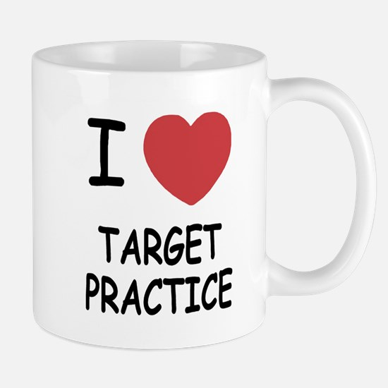 I heart target practice Mug