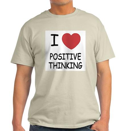 I heart positive thinking Light T-Shirt