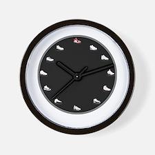 Cute Shoe Wall Clock