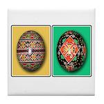 Eggs in a Row Tile Coaster