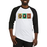 Eggs in a Row Baseball Jersey