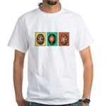 Eggs in a Row White T-Shirt